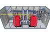 Chaufferie préfabriquée sur mesure Hoval - vue 3D d'ensemble