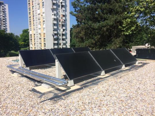 Solarni kolektori za dječji vrtić