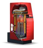 Chaudière gaz à condensation haute performance UltraGas découpée