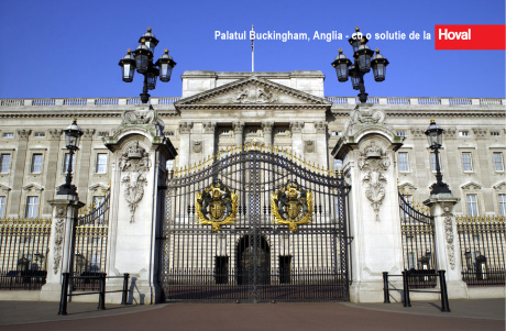 Palatul Buckingham cu o solutie de la Hoval