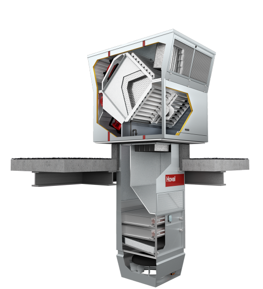 Ventilation units RoofVent