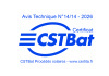 certification cstbat hoval ultrasol