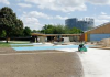 Construction piscine Wacken: chaufferie avec chaudières Hoval