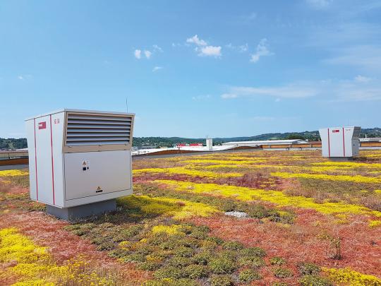 Hoval RoofVent na krovu - decentralizirana ventilacija