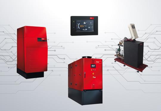 Solution de chauffage avec cogénération et chaudière gaz à condensation