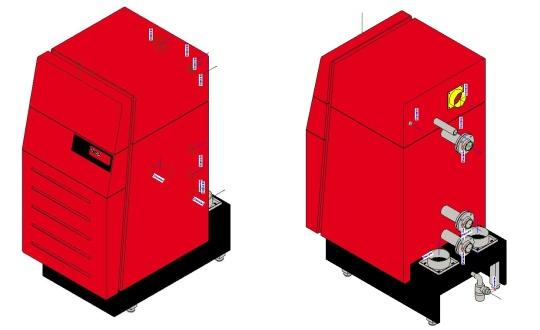 UltraGas condensing boiler hoval BIM
