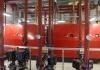 Chaudières à condensation Hoval UltraGas usine Siemens