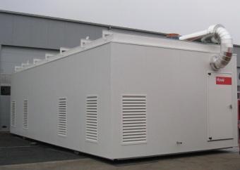Chaufferie préfabriquée sur-mesure Hoval: 6000kW de chauffage
