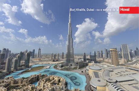 Burj Khalifa cu o solutie de la Hoval