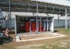 Chaufferie mobile Hoval pour chauffage industriel