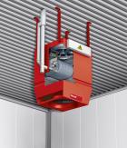 TopVent® Gas: aérotherme gaz pour bâtiments industriels