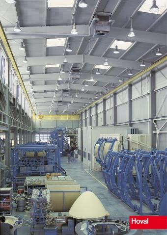 Ventilation par mélange d'air avec appareil décentralisé Hoval