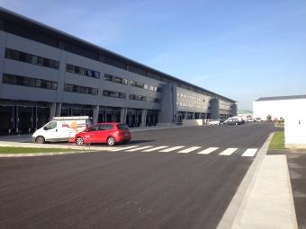 Solution ventilation et chauffage entrepôt à l'EuroAirport Bâle Mulhouse