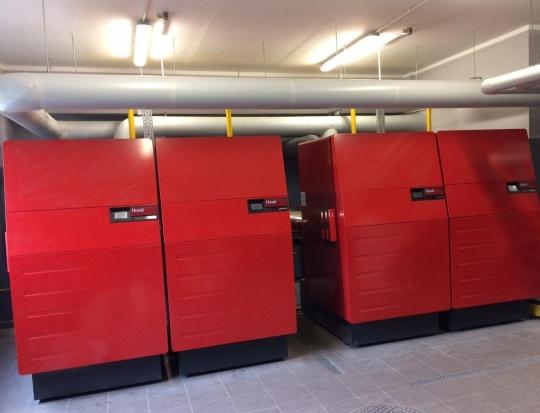 Palais des expositions Aberdeen_chaudières gaz condensation UltraGas 1150