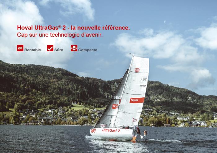 Chaudière collective UltraGas® 2 rentable et compacte