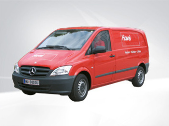 Hoval-Servicewagen