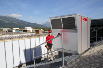 Hoval decentralizirana ventilacija - servis uređaja